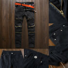 Mens Skinny Stretch Denim Pants Distressed Ripped Freyed Slim Fit Jeans Trousers <br/> ❤ 2018 NEW STYLE ❤ Best Quality ❤ US STOCK ❤Easy Return