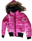 Betty Boop Girls Polyester Jacket with Faux Fur Hood $74.95 USD on eBay