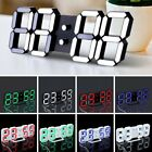 LED Digital Large Jumbo Snooze Wall Room Desk Calendar Alarm Clock Display BN