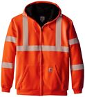 men s high visibility zip thermal lined