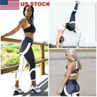 US Women Sport Compression Stretch Leggings Running Yoga Gym Jogger Pencil Pants