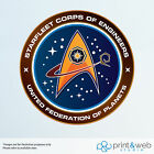 Star Trek Federation Wall Decal Logo Van Laptop Vinyl Sticker Starfleet on eBay