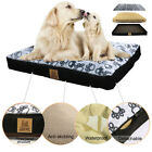 Strong Resistance Pet Dog Bed Removable Mat Kennel Soft Corduroy Cushion XXXL US