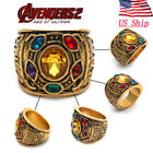 US! Thanos Rings Infinity Gauntlet Power Ring Avengers: Infinity War Jewelry