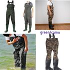 100 WATERPROOF CHEST WADER SIZE 9 11 NYLON BREATHERABLE FLY SEA FISHING BT