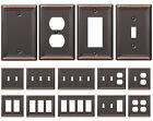 power outlet cover plate - Bronze Wall Switch Plate Toggle Outlet Cover Rocker Duplex Wallplate Covers