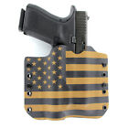 OWB Kydex Holster for 50+ Hanguns with OLIGHT PL-2 - USA COYOTE