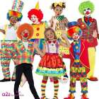 Clown Costume Boys Girls Child Circus Carnival Comic Relief Fancy Dress Outfit