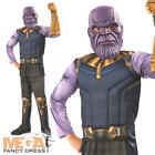 Deluxe Thanos Boys Infinity War Fancy Dress Superhero Villan Kids Childs Costume