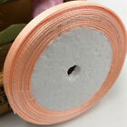 (25 yards/roll ) 6mm Single Face Satin Ribbon Wholesale gift packing Christmas
