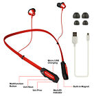 Magnetic Wireless Headset Sport Stereo Headphone Neckband Handsfree Earphone