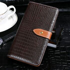 Luxury Crocodile PU Leather Card Holder Wallet Flip Cover For Cubot New Phones