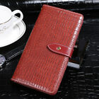 Luxury Crocodile Skin PU Leather Wallet Flip Case Cover For Oukitel New Phones