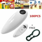 100PACK Electric One Touch Can Open Cordless Battery Operated Tin Bottle Opener