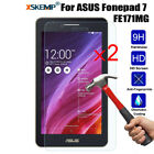 2pcs Genuine Tempered Glass 9H Screen Protector For Asus FonePad / ZenPad Tablet