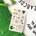 Gold Waterproof Fashion Art Fake Body Temporary Tattoo Stickers Removable Kids