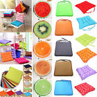 Внешний вид - Cushion Seat Pads Indoor Home Dining Kitchen Office Chair Tie On - Round/Square