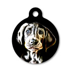 Great Dane Puppy Dog Personalized Pet ID tag-Double Sided-ENGRAVED FREE!