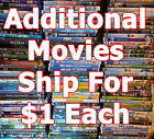 Disney - Dreamworks Kids / Family DVD movies. List-2 Combine Shipping & Save $$