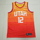 Mens John Stockton Utah Jazz 12Swingman Jersey S to2XL