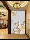 3D Pink Lotus Plant 88 Wallpaper Mural Wall Print Wall Wallpaper Murals US Carly