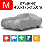 S xl Universal Heavy Duty Full Car Cover Dust Uv Protection Outdoor Breathable