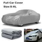 S-XL Universal Heavy Duty Full Car Cover Dust UV Protection Outdoor Breathable $8.29 USD on eBay