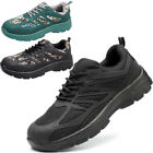 Men Lightweight Composite Toe Safety Work Shoes Breathable Sneakers Hiking Boots