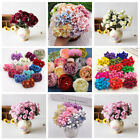 Diy Craft Mini Handmade Rose Peony Fake Flowers Wedding Party Home Decoration