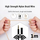 3.5mm AUX Universal Durable Extension Cable Phone Stereo PC
