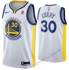 Golden State Warriors #30 Steph Curry NBA Basketball Jersey - blue/white S - XXL
