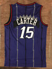 NWT #15 Vince Carter Throwback Swingman Jersey Toronto Raptors Purple Mens