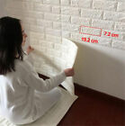 Pe Foam 3d Self Adhesive Diy Panels Wall Stickers Home Decor Embossed Brick