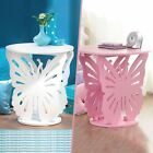 Wooden Butterfly Table Kids Girls Bedroom Round Side End Lamp Table Play Room