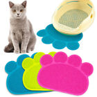 Paw Print Dog Cat Dish Feeding Bowl Placemat Litter Mat Cleaning Sleeping Pad