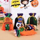 Cute Halloween Drawstring Candy Bag Gift Storage Pouch Party Decor Ornament