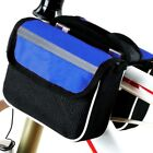 Outdoor Bike Handlebar Bag Bicycle Pannier Frame Tube Cycling Pouch Basket US