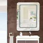 3000-6500K Fogless Safty LED Wall Mounted Lighted Vanity Mirror Touch Beauty US