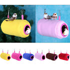 Warm Soft Plush Hanging Nest Stand Rest Perch Swing Toy For Parrot Bird Parakeet