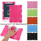 "Universal Soft Silicone Shockproof Case Cover Stand For 7"" 8.9"" 12'' Tablet PC L"