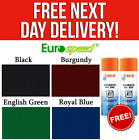 GENUINE EURO SPEED Pool Table Cloth Packs Bed & Cushions + FREE ADHESIVE £56.0 GBP on eBay