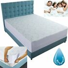 WATERPROOF MATTRESS COVER King Queen Full Twin Bed Pad Protector NEW image