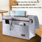 Pop Felt Bedside Caddy Pocket Bed Organizer Storage Phone Remote Holder Bag UK