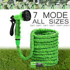 50 75 100 150 Feet Expandable Flexible Garden Water Hose Spray Nozzle Gun US KY