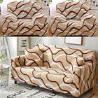 1 2 3 4 Seat Stretch Sofa Cover Protector Couch Loveseat Slipcovers L Shape