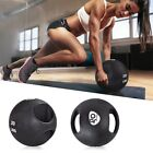 6/8/10/12/14/16/20 lbs Goplus Dual Grip Medicine Ball Fitness Workout Weight Gym image