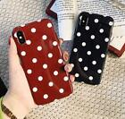 Внешний вид - Polka Dots TPU Rubber Silicone Case for iPhone X 8 7 6 6S Plus Cover Shockproof