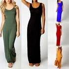 Womens Basic Tank Bodycon Sleeveless Scoop Neck Solid Slim F