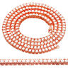 20 Inch Tennis Necklace Rose Gold Tone Simulated Diamond 5mm Lobster Lock Men