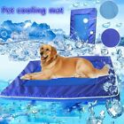 Summer Pet Soft Kennel Cooling Bed Mat Breathable Hand Washable Nylon Carpets